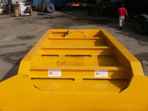 Lowbed 2-axle with Slope